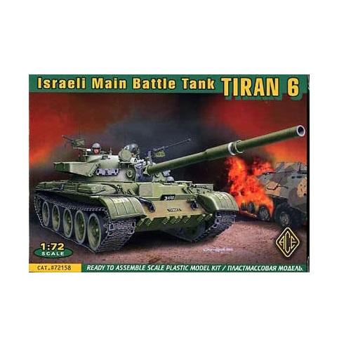 ACE 72158 - Israeli Main Battle Tank - Tiran 6 - 1.72