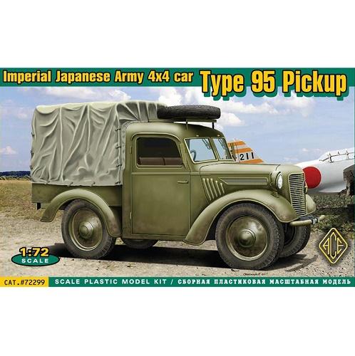 ACE 72299 - Imperial Japanese Army 4x4 Car - 1.72