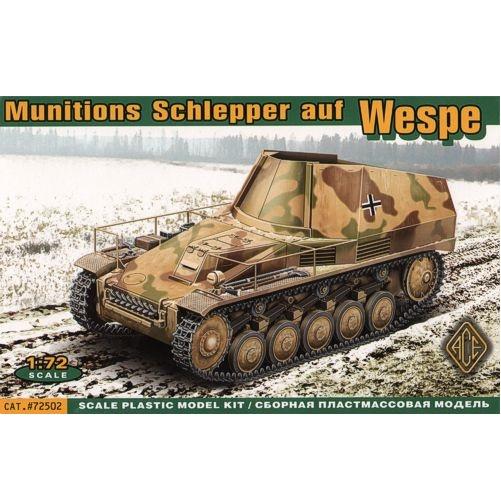 ACE 72502 - Munitions Schlepper auf  Wespe - 1.72