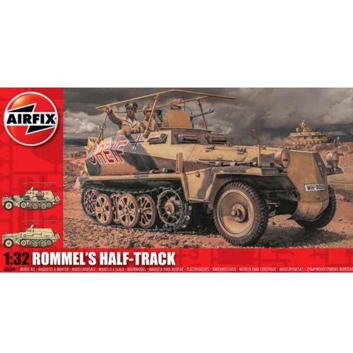 Airfix 06360 - Rommel's Half Track - Scale 1.32