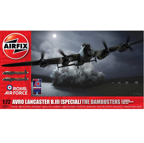 Airfix 09007 - Avro Lancaster B.III (Special) The Dambusters - Scale 1.72