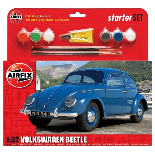 Airfix 55207 - VW Beetle Starter Set  - Scale 1.32