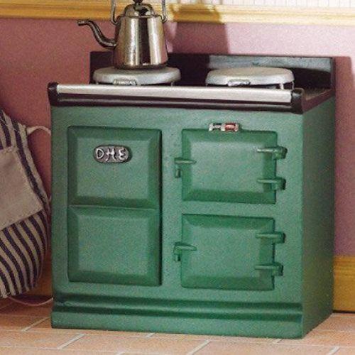 DH 2943 - Green Aga-style Stove