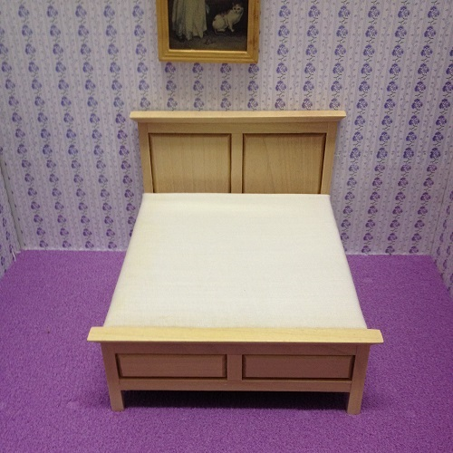 DH 3593- Cherry Pine Double Bed