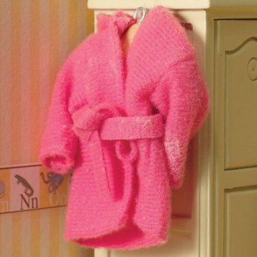 DH 4308 - Pink Cosy Dressing Gown