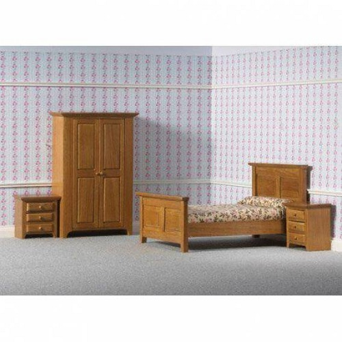DH 4437 - Country Bedroom Set, 4 pcs
