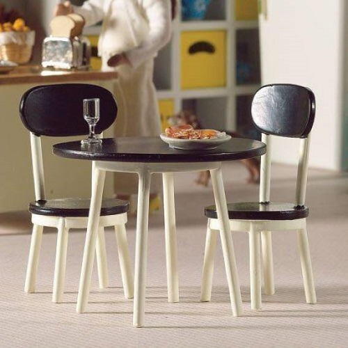 DH 4916 - Cafe Style Table & Two Chairs