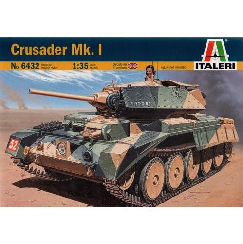 Italeri 6432 - Crusader Mk1 Tank - Scale 1:35