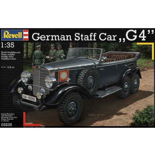 Revell 03235 - German Staff Car G4 1939 - Scale 1.35