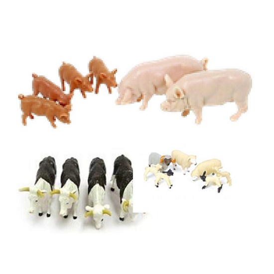 Britains 43096A1 - Mixed Animal Pack - Scale 1.32