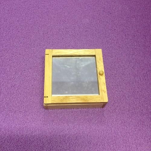 DH 5669 - Mirrored Oak Cabinet