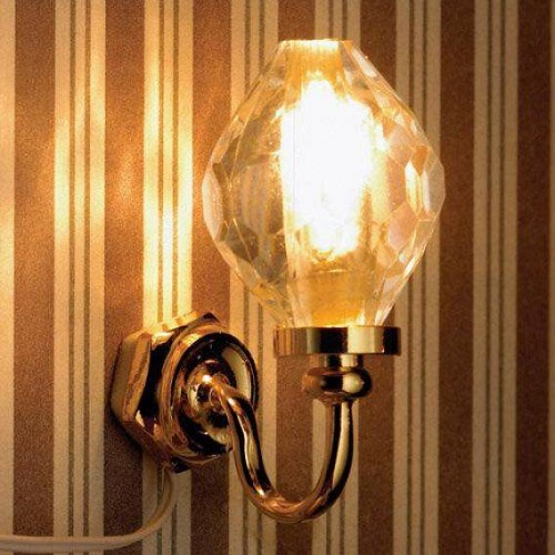 DH 6055 - Crystal Globe Wall Light