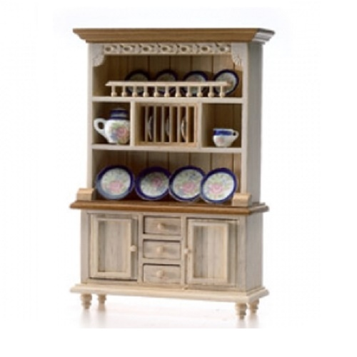DH 6724 - White washed Dresser