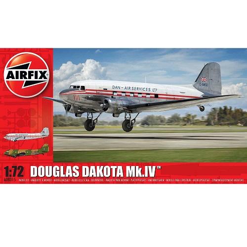 Airfix 08015 - Douglas Dakota Mk.IV Dan-Air Services - 1.72