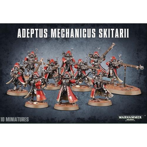 Warhammer 40K - 59-10 - Adeptus Mechanicus Skitarii