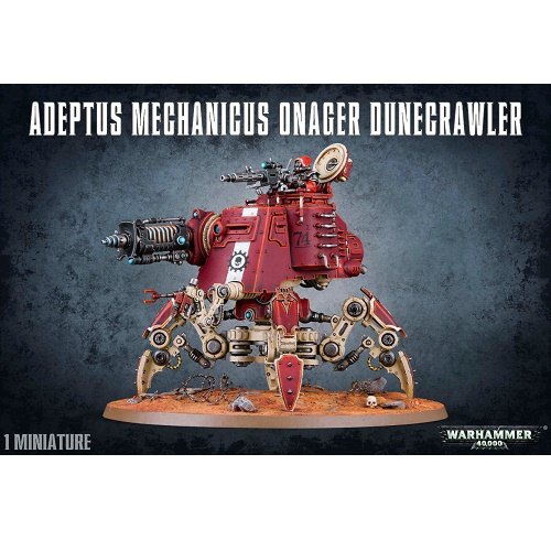 Warhammer 40K - 59-13 - Adeptus Mechanicus Onager Dunecrawler