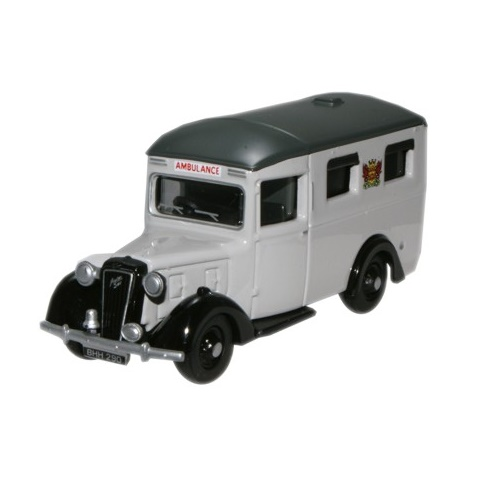 Oxford 76AMB003 - Austin 18 Ambulance - Carlisle