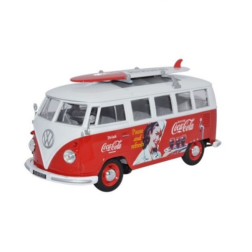 Welly 001 - VW Bus - Coca Cola