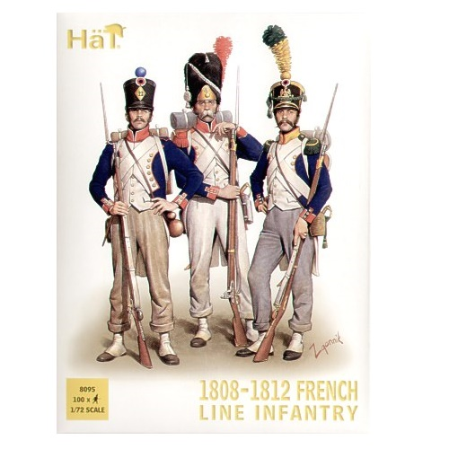 HAT 8095 - French Infantry 1808-1812