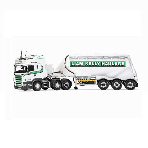 Corgi 13767-Scania Tanker - Liam Kelly Haulage