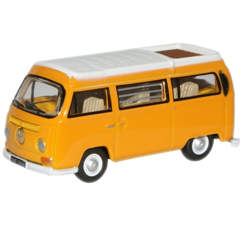 Oxford 76VW008 - VW Camper Van Closed - Yellow and White