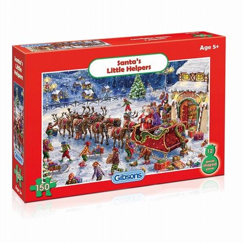 GIB1112 - Santas Little Helpers - 150 piece