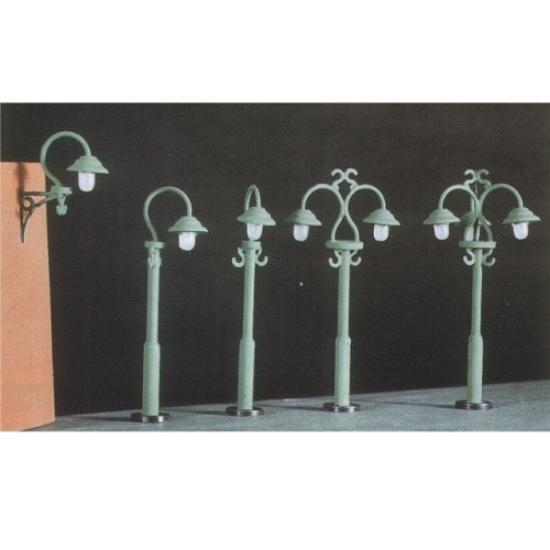 Ratio 453 - Swan Necked lamps (9 per pack
