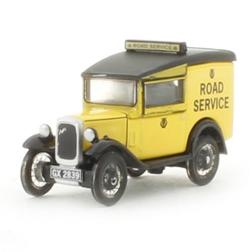 Oxford 76ASV002 - Austin Seven RN Van AA