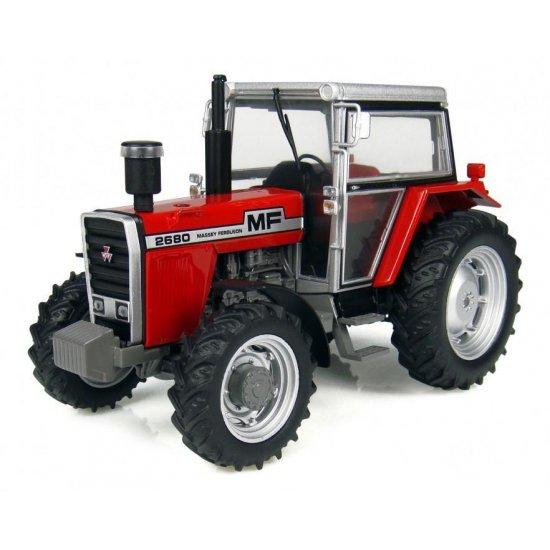 Universal Hobbies 4108 - Massey Ferguson 2680 4WD Tractor - Scale 1.32)