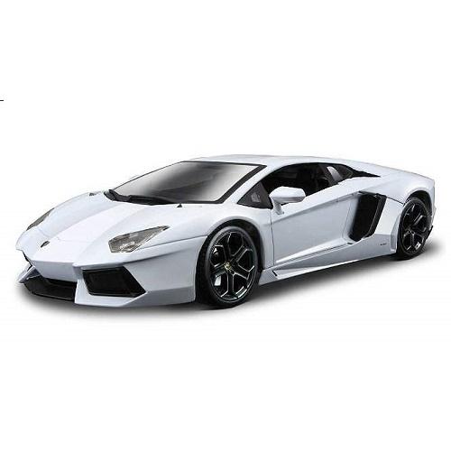 Bburago 11033 - Lamborghini Aventador - White