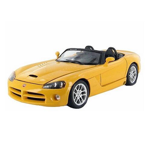 Bburago 12043 - Dodge Viper SRT-10  - Yellow