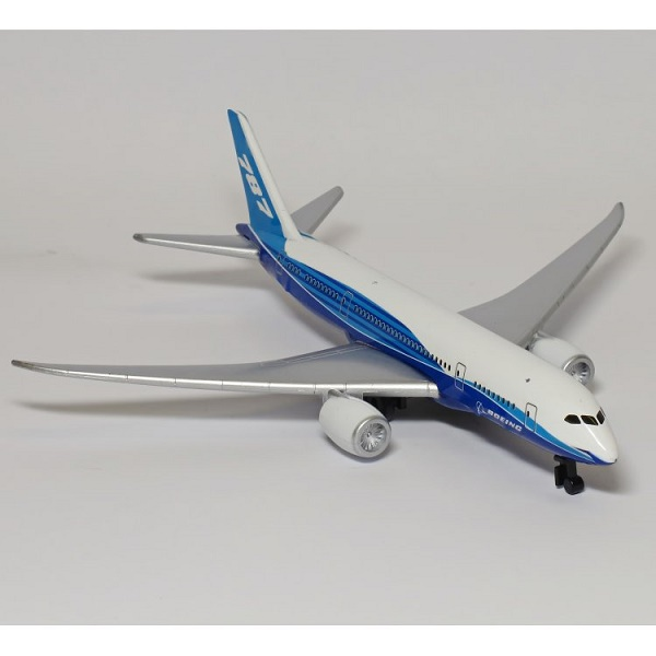 Daron RT7474 Boeing 787 Dreamliner House Colours Toy Aircaft Model