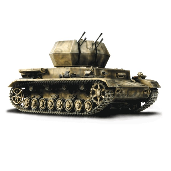 Forces of Valor 80051 - German Flakpanzer IV Wirbelwind Tank, D-Day, Normandy, 1944