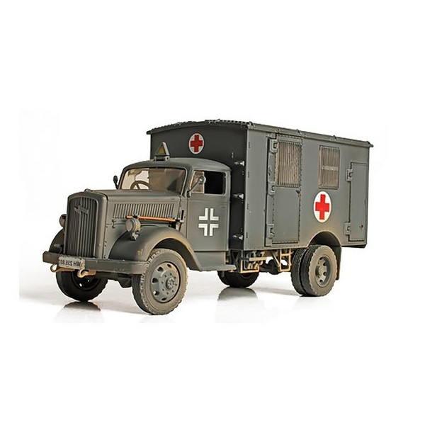 Forces of Valor 80092 - German 4x4 Ambulance 1.32