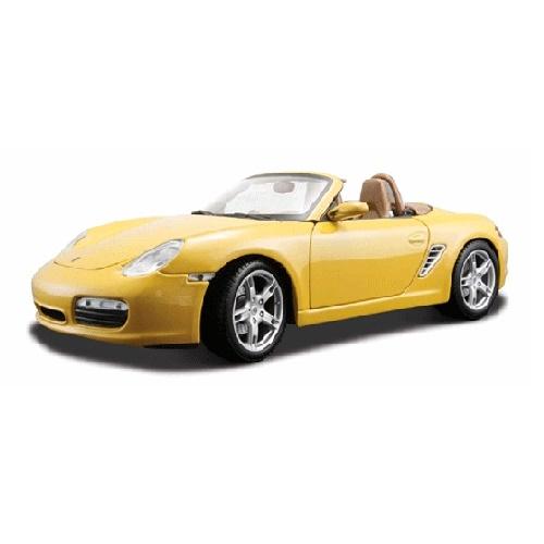 Maisto 31123 - Porsche Boxster - Yellow
