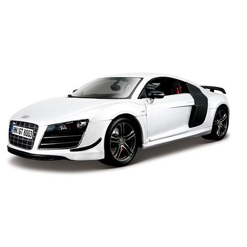 Maisto 36190 - Audi R8 Gt - White
