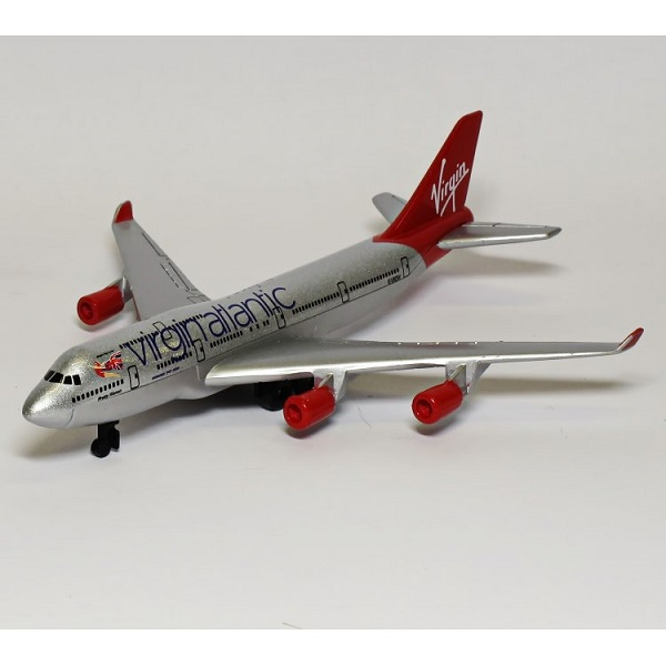 Real Toys VAA6264 Virgin Atlantic Airlines Boeing 747-400 Toy Aircaft Model
