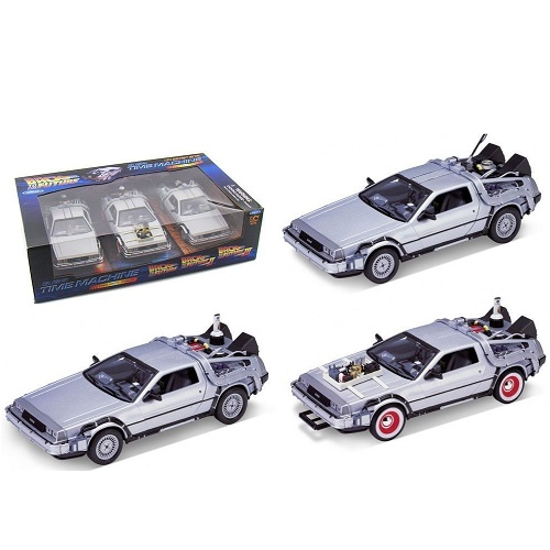 Welly 22400 - DeLorean - Back to the Future - Triogy