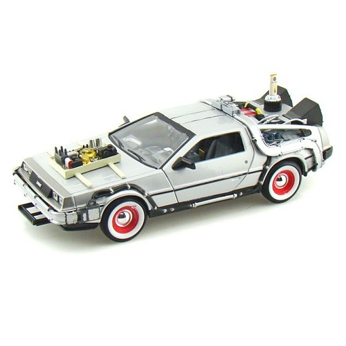 Welly 22444 - DeLorean - Back to the Future.