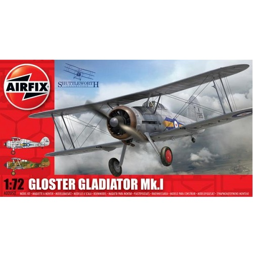 Airfix 02052 - Gloster Gladiator - Scale 1.72