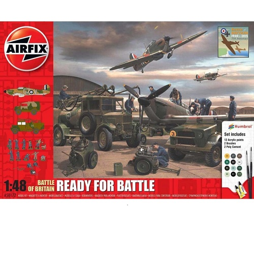 Airfix 50172 - Battle of Britain - Ready for Battle - Scale 1.48