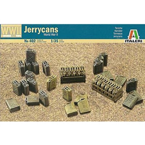 Italeri 402 - Jerrycans - Scale 1.35-