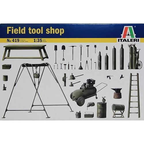 Italeri 419 - Field Tool Shop - Scale 1.35