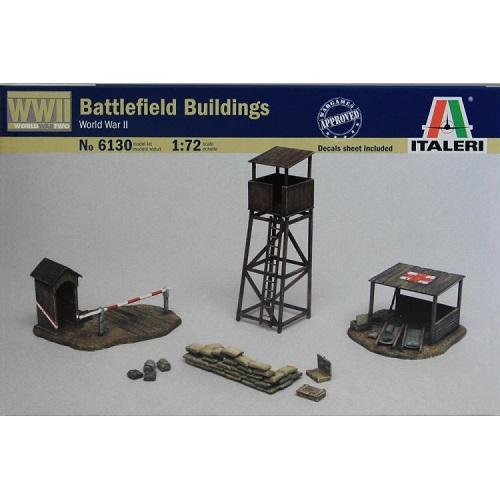 Italeri 6130 - Battlefield Buildings WW11 - Scale 1.72 -