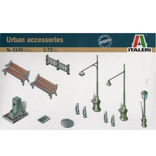 Italeri 6146 - Urban Accessories - Scale 1.72 -