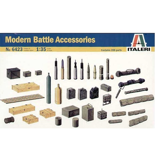 Italeri 6423 - Modern Battle Accessories - Scale 1.35