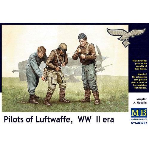 Master Box 3202 -Pilots of Luftwafe WW11 - 1.32