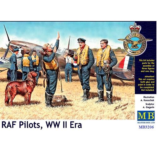 Master Box 3206 - RAF Pilots - WW11 -