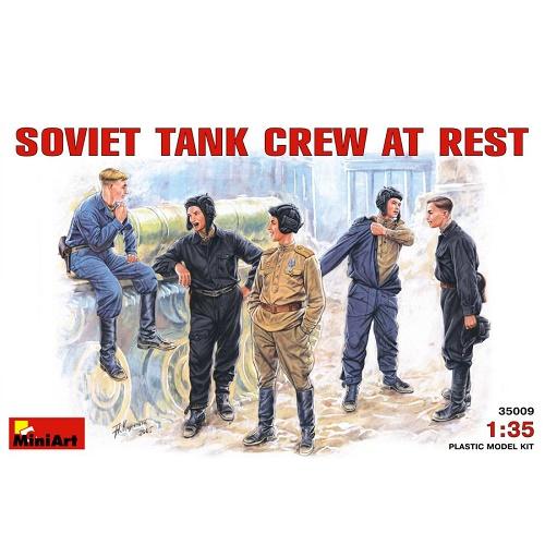 MiniArt 35009 - Soviet Tank Crew at Rest - Scale 1.35