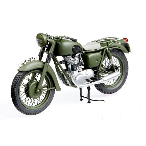 Minichamps 122133501 - Triumph TR6 1962 - Green